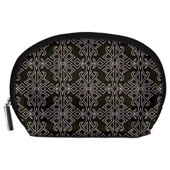 Line Geometry Pattern Geometric Accessory Pouches (Large)