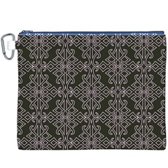 Line Geometry Pattern Geometric Canvas Cosmetic Bag (XXXL)