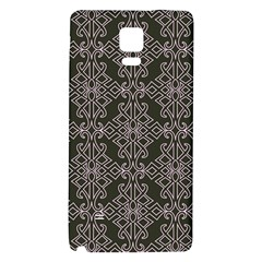 Line Geometry Pattern Geometric Galaxy Note 4 Back Case