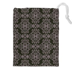 Line Geometry Pattern Geometric Drawstring Pouches (xxl)