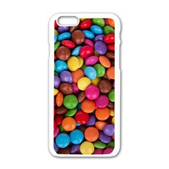 candy Apple iPhone 6/6S White Enamel Case
