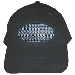 Texture Pattern Metal Black Cap