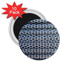 Texture Pattern Metal 2.25  Magnets (10 pack)