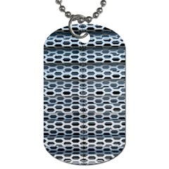 Texture Pattern Metal Dog Tag (two Sides)