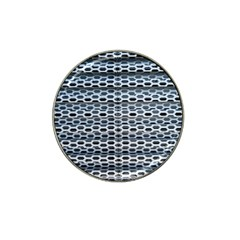 Texture Pattern Metal Hat Clip Ball Marker (10 Pack)