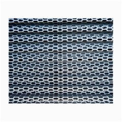 Texture Pattern Metal Small Glasses Cloth