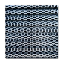 Texture Pattern Metal Face Towel