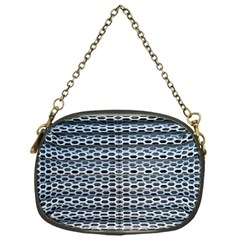 Texture Pattern Metal Chain Purses (one Side)