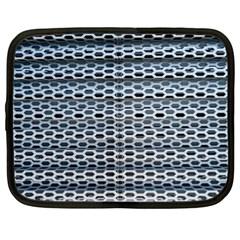 Texture Pattern Metal Netbook Case (xl)