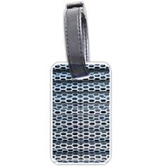 Texture Pattern Metal Luggage Tags (One Side)