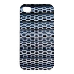Texture Pattern Metal Apple Iphone 4/4s Premium Hardshell Case