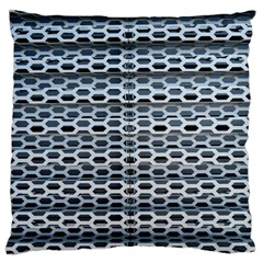Texture Pattern Metal Large Cushion Case (two Sides)