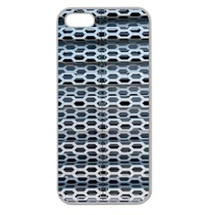 Texture Pattern Metal Apple Seamless iPhone 5 Case (Clear)