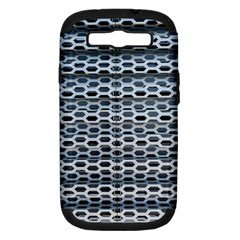 Texture Pattern Metal Samsung Galaxy S Iii Hardshell Case (pc+silicone)