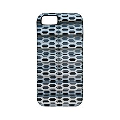 Texture Pattern Metal Apple Iphone 5 Classic Hardshell Case (pc+silicone)