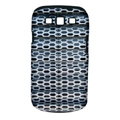 Texture Pattern Metal Samsung Galaxy S Iii Classic Hardshell Case (pc+silicone)