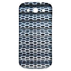 Texture Pattern Metal Samsung Galaxy S3 S Iii Classic Hardshell Back Case