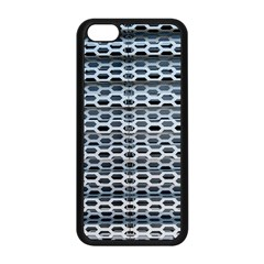 Texture Pattern Metal Apple Iphone 5c Seamless Case (black)