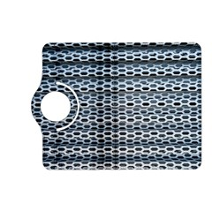 Texture Pattern Metal Kindle Fire Hd (2013) Flip 360 Case
