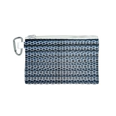 Texture Pattern Metal Canvas Cosmetic Bag (S)