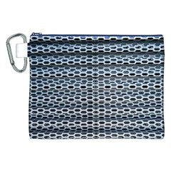 Texture Pattern Metal Canvas Cosmetic Bag (xxl)
