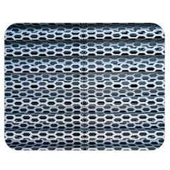 Texture Pattern Metal Double Sided Flano Blanket (Medium)