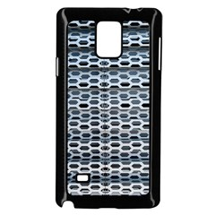 Texture Pattern Metal Samsung Galaxy Note 4 Case (black)