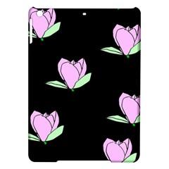 Black Magnolia iPad Air Hardshell Cases