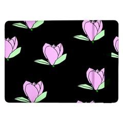 Black Magnolia Samsung Galaxy Tab Pro 12.2  Flip Case