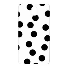 Black And White Dalmatian Spot Pattern Samsung Galaxy Note 3 N9005 Hardshell Back Case