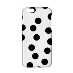 Black And White Dalmatian Spot Pattern Apple iPhone 6/6S Hardshell Case
