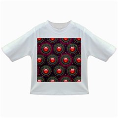 Abstract Circle Gem Pattern Infant/toddler T Shirts