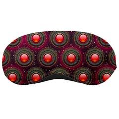 Abstract Circle Gem Pattern Sleeping Masks