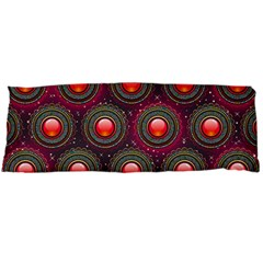Abstract Circle Gem Pattern Body Pillow Case Dakimakura (two Sides)