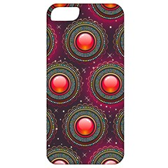 Abstract Circle Gem Pattern Apple Iphone 5 Classic Hardshell Case