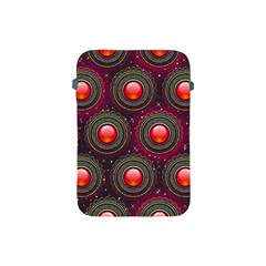 Abstract Circle Gem Pattern Apple Ipad Mini Protective Soft Cases