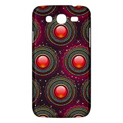 Abstract Circle Gem Pattern Samsung Galaxy Mega 5.8 I9152 Hardshell Case