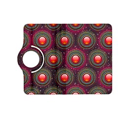 Abstract Circle Gem Pattern Kindle Fire Hd (2013) Flip 360 Case