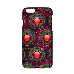 Abstract Circle Gem Pattern Apple iPhone 6/6S Hardshell Case