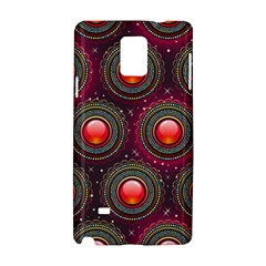 Abstract Circle Gem Pattern Samsung Galaxy Note 4 Hardshell Case