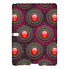 Abstract Circle Gem Pattern Samsung Galaxy Tab S (10 5 ) Hardshell Case