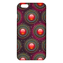 Abstract Circle Gem Pattern Iphone 6 Plus/6s Plus Tpu Case