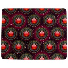 Abstract Circle Gem Pattern Jigsaw Puzzle Photo Stand (rectangular)