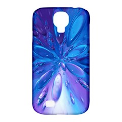 Blue Bubbles Bg Samsung Galaxy S4 Classic Hardshell Case (PC+Silicone)
