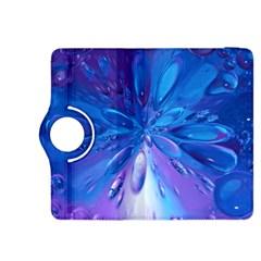 Blue Bubbles Bg Kindle Fire HDX 8.9  Flip 360 Case