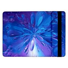 Blue Bubbles Bg Samsung Galaxy Tab Pro 12.2  Flip Case