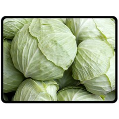 Cabbage Double Sided Fleece Blanket (Large)