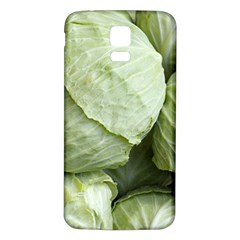Cabbage Samsung Galaxy S5 Back Case (White)