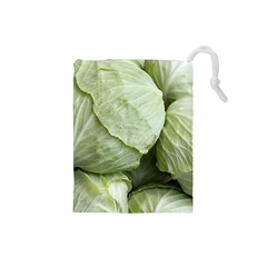 Cabbage Drawstring Pouches (Small)