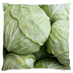 Cabbage Large Flano Cushion Case (Two Sides)